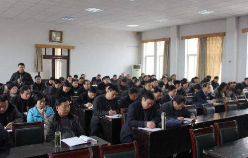 山东省梁山县卫计局召开健康融入所有政策培训会议
