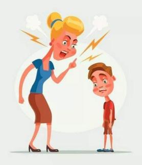 批评孩子前先问2个问题 这四种批评方式要不得