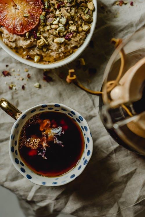 柔肝养肺试试一粥一茶